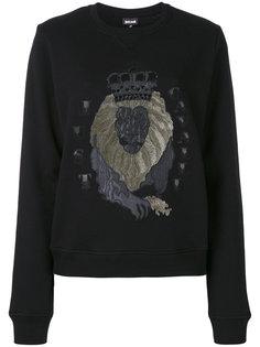 толстовка с рисунком льва Just Cavalli