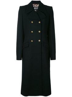 двубортное пальто Just Cavalli