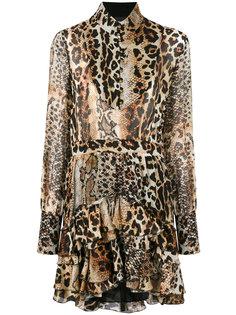 платье с леопардовым принтом Just Cavalli