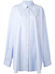 рубашка свободного кроя Maison Margiela