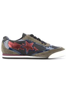 кроссовки с панельным дизайном Just Cavalli