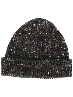 шапка ребристой вязки Maison Margiela