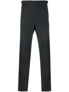 брюки с панельным дизайном Versace