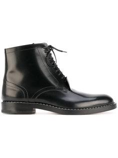классические ботинки на шнуровке Maison Margiela