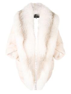 пальто Marilyn из меха лисы и норки Cara Mila