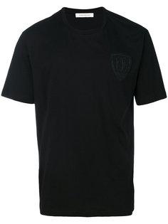 футболка с заплаткой с логотипом Pierre Balmain