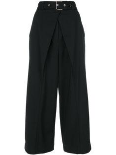 брюки-палаццо с поясом Proenza Schouler