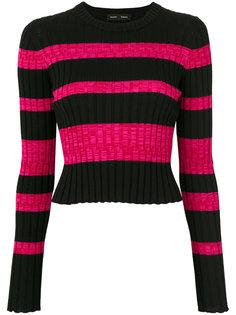 полосатый укороченные свитер Proenza Schouler
