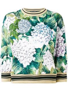 джемпер с цветочным рисунком Dolce & Gabbana