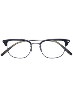 очки Willman в двухцветной оправе Oliver Peoples
