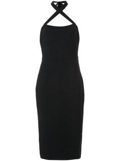 миди платье с петлей Christian Siriano