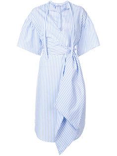 асимметричное платье в полоску  Tome