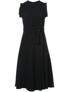 платье со шнуровкой спереди  Tome