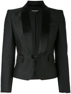 жаккардовый пиджак-смокинг Dsquared2