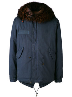 куртка с оторочкой из лисьего меха Mr & Mrs Italy
