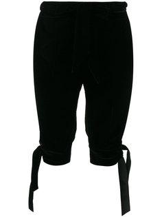 брюки с бантами по бокам  Philosophy Di Lorenzo Serafini