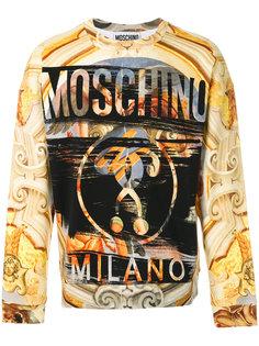толстовка с принтом Барокко Moschino