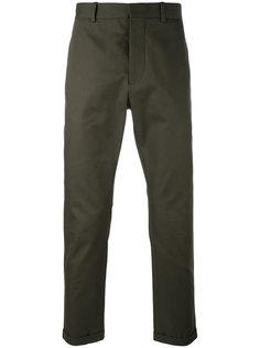 укороченные брюки с подворотом Marni