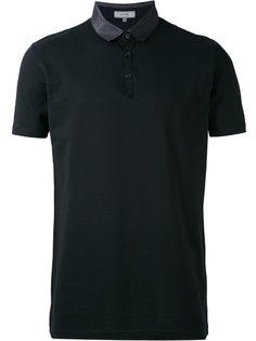 футболка-поло с атласным воротником Lanvin