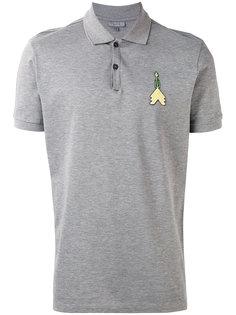 футболка-поло с нашивкой стрелы Lanvin