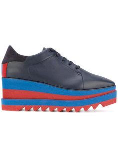 кроссовки на полосатой платформе Stella McCartney