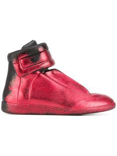 блестящие кроссовки с градиентным эффектом Maison Margiela