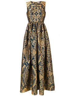 жаккардовое платье без рукавов Shaw Mary Katrantzou