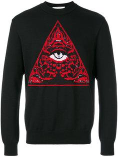 джемпер с элементом Illuminati Givenchy
