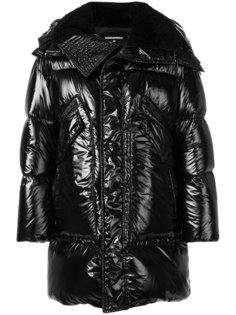 пуховое пальто с отблеском Dsquared2