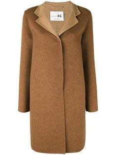 пальто на пуговицах средней длины Manzoni 24