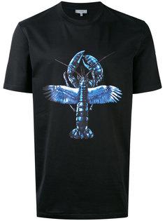 футболка с принтом лобстера Lanvin
