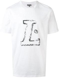 футболка с принтом буквы L Lanvin