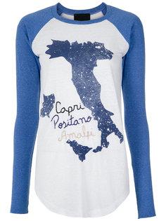 embroidered raglan blouse Andrea Bogosian