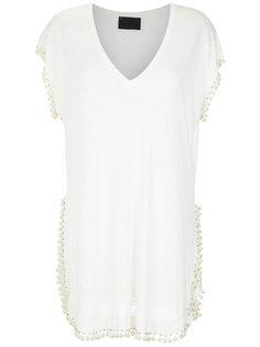 linen blouse Andrea Bogosian