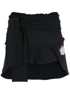 ruffled shorts Andrea Bogosian
