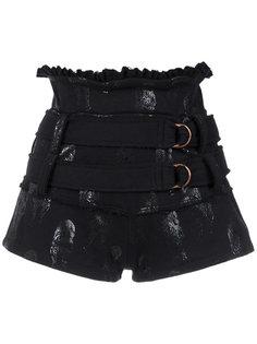 belted sweat shorts Andrea Bogosian