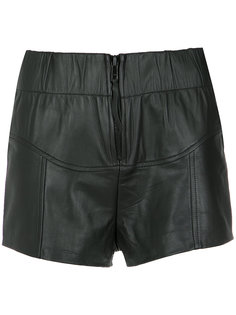 leather shorts Andrea Bogosian