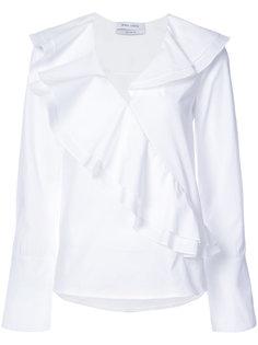 блузка с оборкой  Prabal Gurung