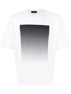 футболка с градиентным принтом Diesel Black Gold