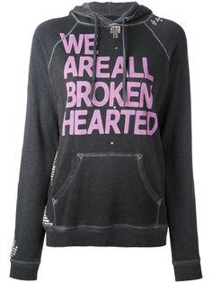 толстовка с капюшоном We Are All Broken Hearted Freecity