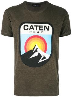 футболка с принтом горного пейзажа Dsquared2