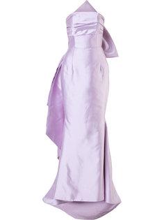 вечернее платье с бантом Bambah