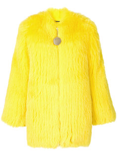 куртка из лисьего меха без воротника Givenchy