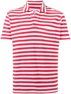 футболка-поло в полоску Orlebar Brown