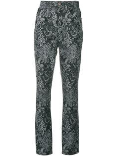 брюки с принтом пейсли Marc Jacobs