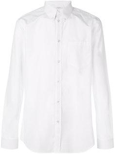 классическая рубашка с полосатой отделкой Givenchy