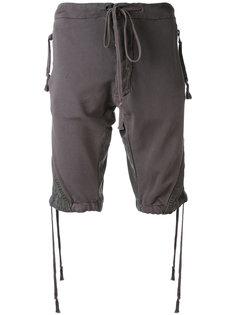 шорты с эластичным поясом Greg Lauren