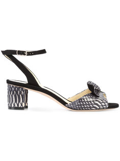 босоножки на массивном каблуке  Sarah Flint