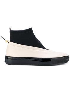 контрастные ботинки Marni