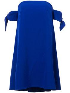 платье с узлами на рукавах  Milly